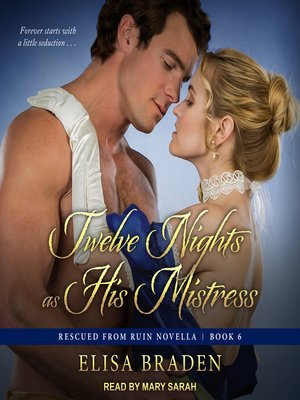 cover image of Twelve Nights as His Mistress