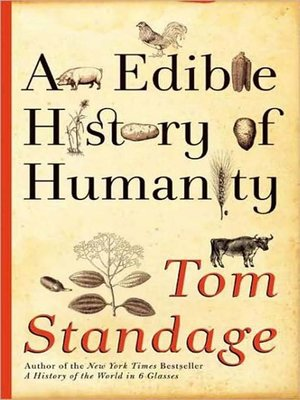 cover image of An Edible History of Humanity