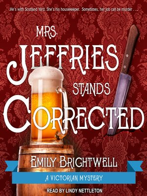 cover image of Mrs. Jeffries Stands Corrected