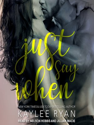cover image of Just Say When