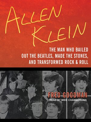 cover image of Allen Klein