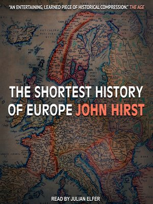 cover image of The Shortest History of Europe