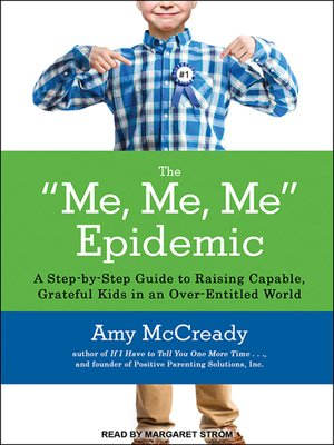 cover image of The Me, Me, Me Epidemic