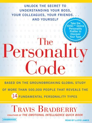 cover image of The Personality Code