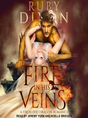 cover image of Fire in His Veins