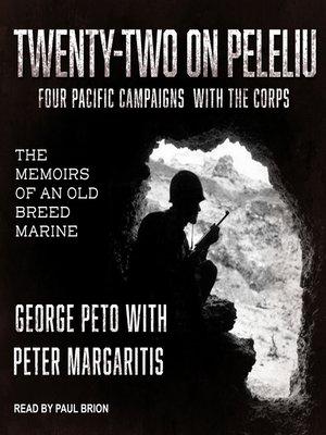 cover image of Twenty-Two on Peleliu