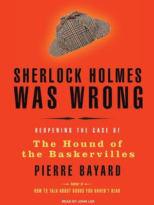 cover image of Sherlock Holmes Was Wrong