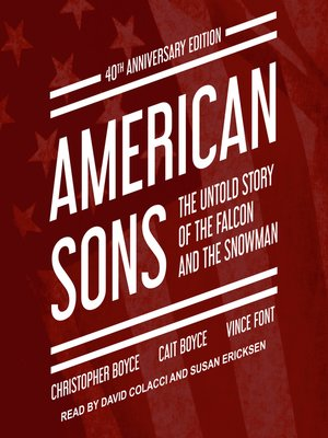 cover image of American Sons