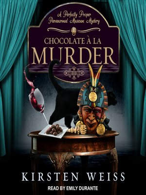 cover image of Chocolate a la Murder