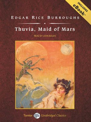 cover image of Thuvia, Maid of Mars