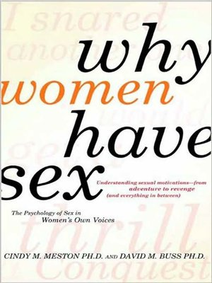 cover image of Why Women Have Sex