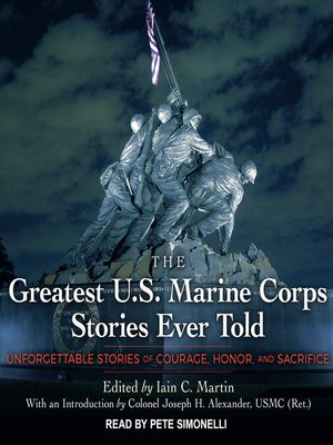 cover image of The Greatest U.S. Marine Corps Stories Ever Told