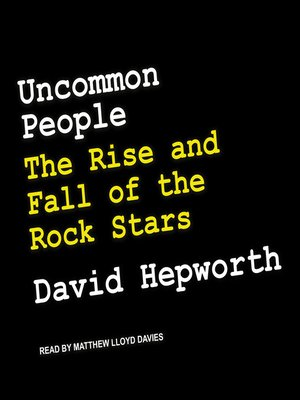 cover image of Uncommon People