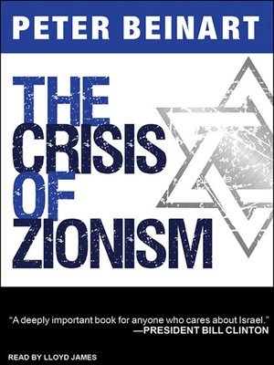 cover image of The Crisis of Zionism