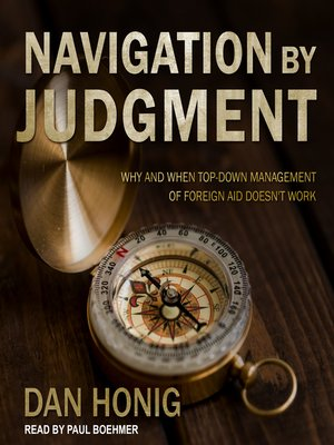 cover image of Navigation by Judgment