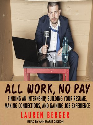 cover image of All Work, No Pay