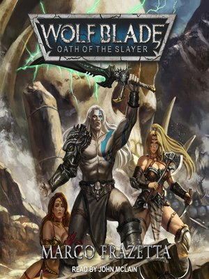 cover image of Wolf Blade--Oath of the Slayer