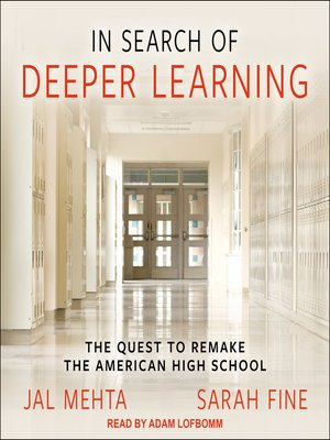 cover image of In Search of Deeper Learning