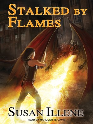 cover image of Stalked by Flames