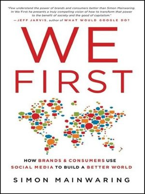 cover image of We First