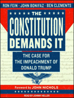 cover image of The Constitution Demands It