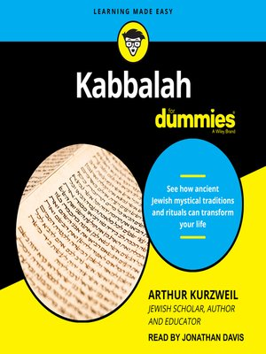 cover image of Kabbalah for Dummies