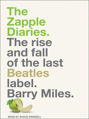 cover image of The Zapple Diaries