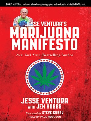 cover image of Jesse Ventura's Marijuana Manifesto