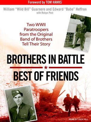 cover image of Brothers in Battle, Best of Friends
