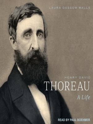 cover image of Henry David Thoreau