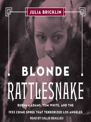 cover image of Blonde Rattlesnake