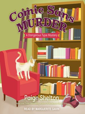 cover image of Comic Sans Murder