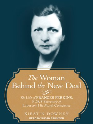 cover image of The Woman Behind the New Deal
