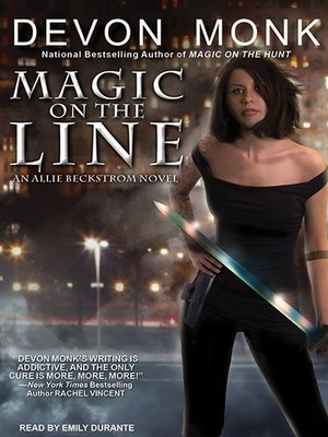 cover image of Magic on the Line