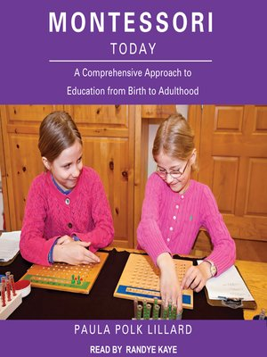 cover image of Montessori Today