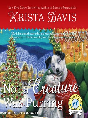 cover image of Not a Creature Was Purring