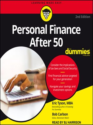 cover image of Personal Finance After 50 for Dummies