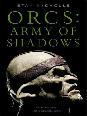 cover image of Orcs--Army of Shadows