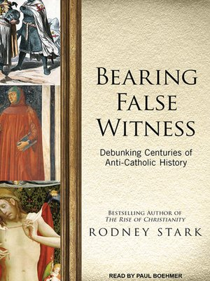 cover image of Bearing False Witness