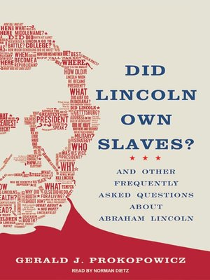 cover image of Did Lincoln Own Slaves?