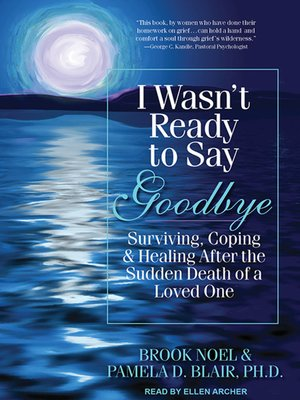 cover image of I Wasn't Ready to Say Goodbye