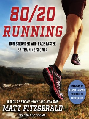 cover image of 80/20 Running