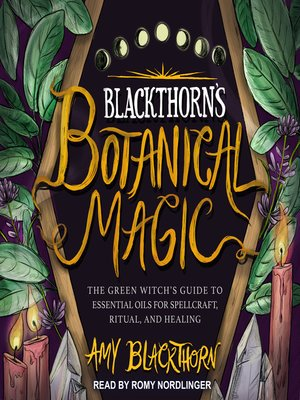 cover image of Blackthorn's Botanical Magic