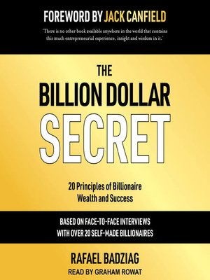 cover image of The Billion Dollar Secret