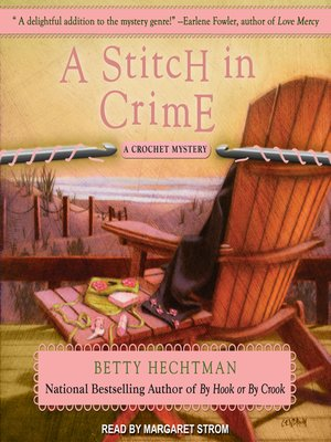 cover image of A Stitch in Crime