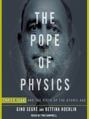 cover image of The Pope of Physics