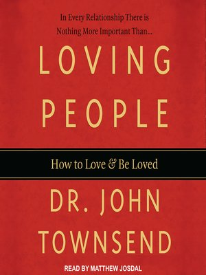 cover image of Loving People