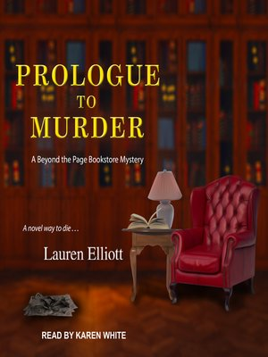 cover image of Prologue to Murder