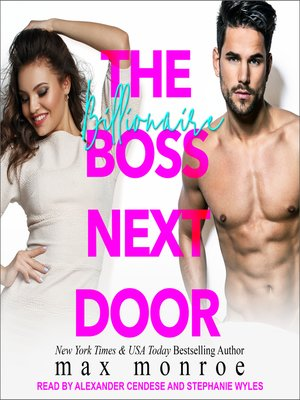 cover image of The Billionaire Boss Next Door