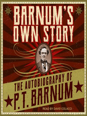 cover image of Barnum's Own Story